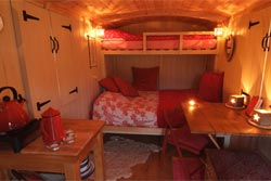 Herdy Huts Interior